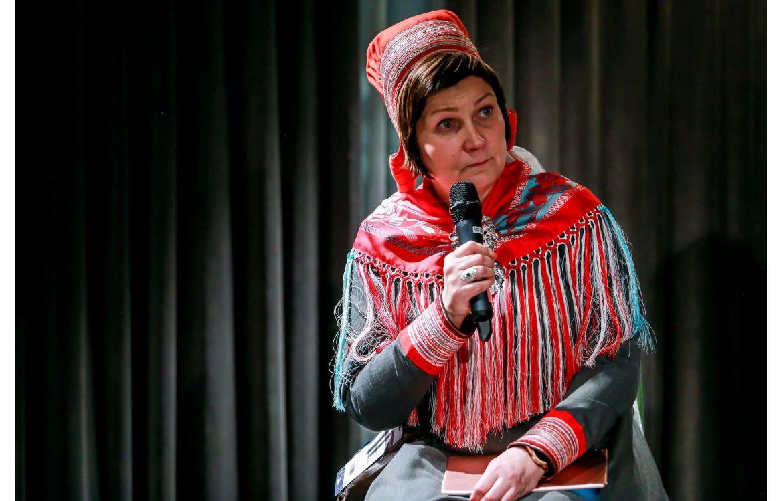 Aili Keskitalo, Présidente du Parlement sami de Norvège