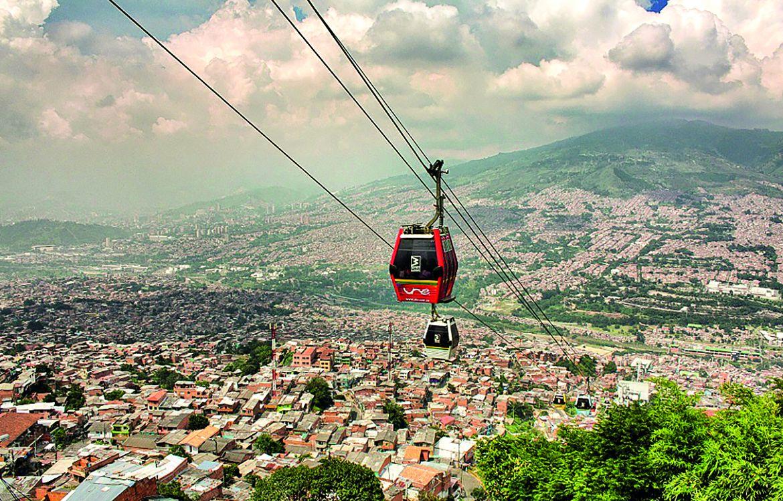 Métrocable de Medellín, Colombie.